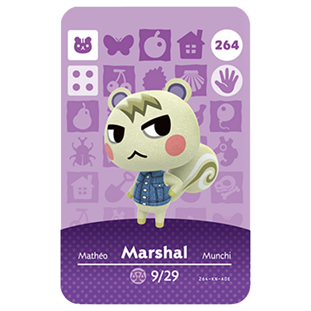 Amiibo Animal Crossing Card 264