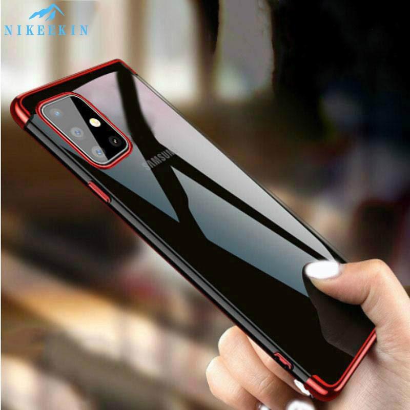 Лазерный чехол для Samsung Galaxy M51 M31S M11 M21 M30S A10S A20S A30S A50 A70 A01 Core A11 A21S A31 A41 A51 A71 Мягкий силиконовый чехол