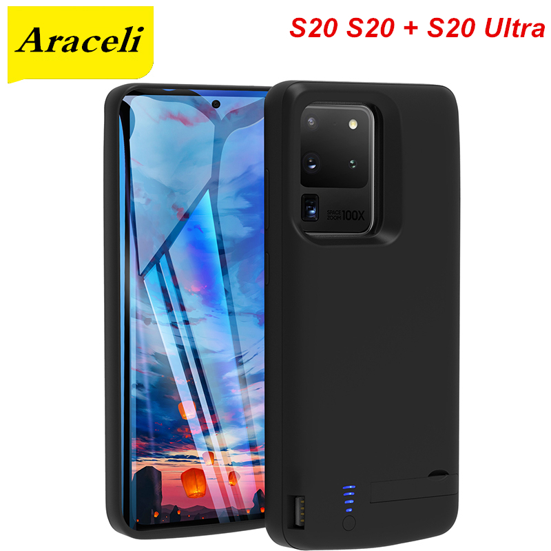 Araceli, para Samsung Galaxy S20 S20 + Plus S20, funda Ultra de batería, funda para cargador de batería de teléfono, funda S20 S20 + S20, Banco de energía Ultra