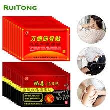 医療石膏 Jiont 鎮痛パッチ 100% オリジナルバックためプラスター膝首肩の痛み中国医学パッチ