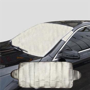 Samochód śnieg lód Protector Visor parasol przeciwsłoneczny Fornt osłona tylnej szyby pokrywa na bloki przedni tylny blok szyba przednia samochodowa akcesoria tanie i dobre opinie CN (pochodzenie)