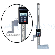 0-300 мм/0,01 мм Высокоточный цифровой штангенциркуль высотомер Циферблат из нержавеющей стали линейка высоты датчик высоты штангенциркуль с нониусом из пластмассы