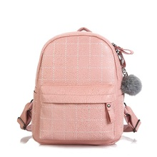 Fashion Mini Backpack Pu Leather Small Women Backpack Girls Travel Daypack Shoulder Bags Female Mochila Rucksack цена