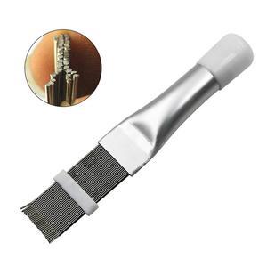 Image 5 - Klima Fin tarak kondenser temizleme tarak Fin tarak fırça klima Blade soğutma doğrultma temizleme aracı
