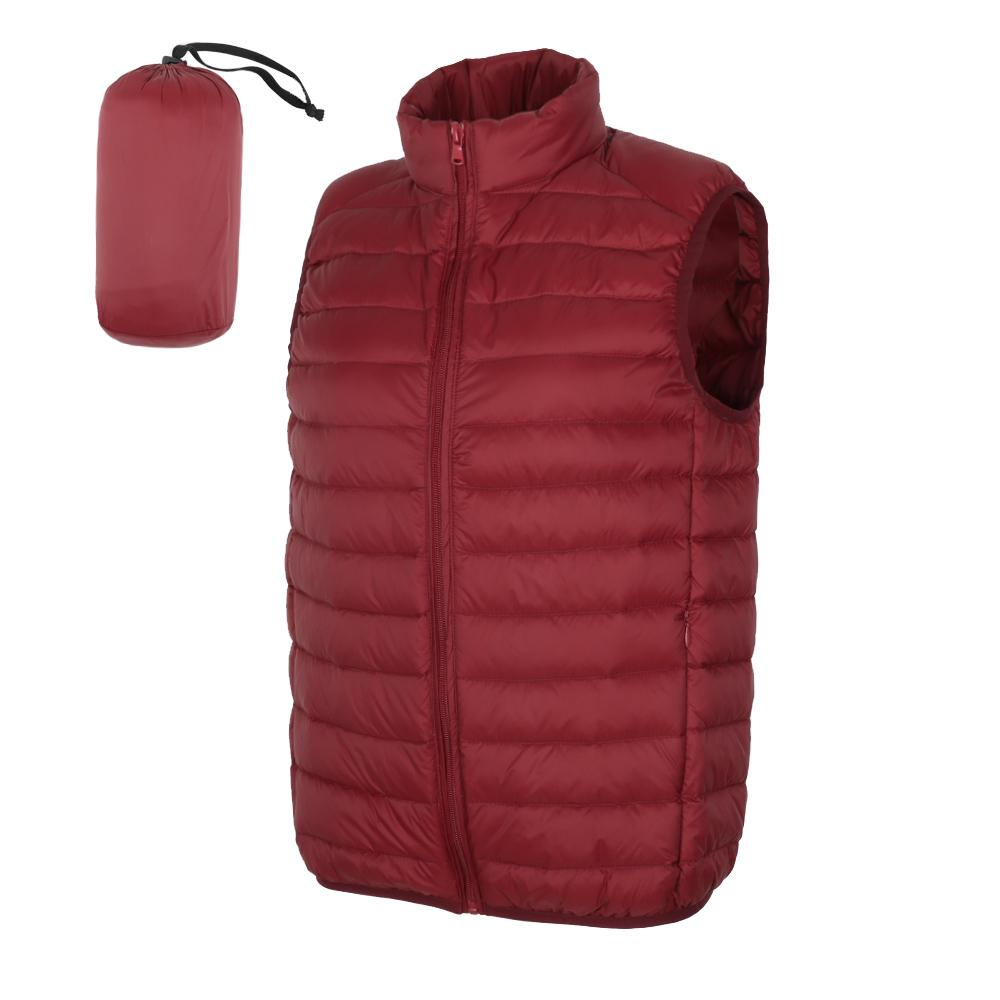 NewBang 2019 Men Matte Duck Down Vest Sleeveless Light Weight Windbreaker Male Gilet Outwear
