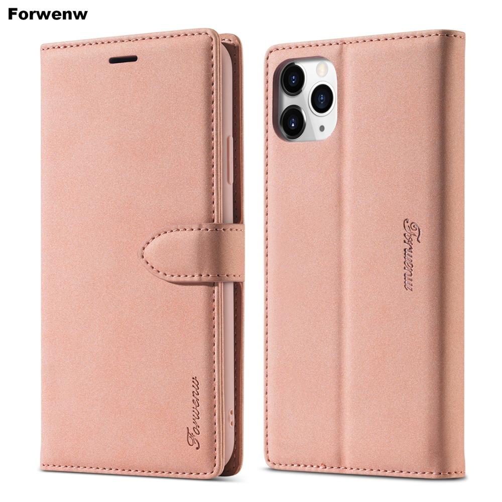 Luxury Leather Phone Case For iPhone 11 Pro Max Case For iPhone 12 Pro X Xr Xs Max Wallet Flip Case 6 6s 7 8 Plus Cover