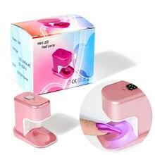 Светодиодный мини лампа для ногтей яйцо Форма сроки фототерапии