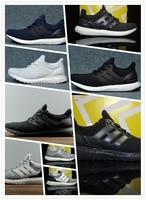 Ultra Boost 3.0 4.0 Triple Black and White Primeknit Oreo CNY Blue Gray Men Women Running Shoes Ultra Boosts Ultraboost Sport