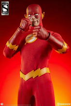 The Flash Man Figure In stock Full Set Sideshow 100237 1/6 12 Movable Male DC Comics Toys for fans Collection gift