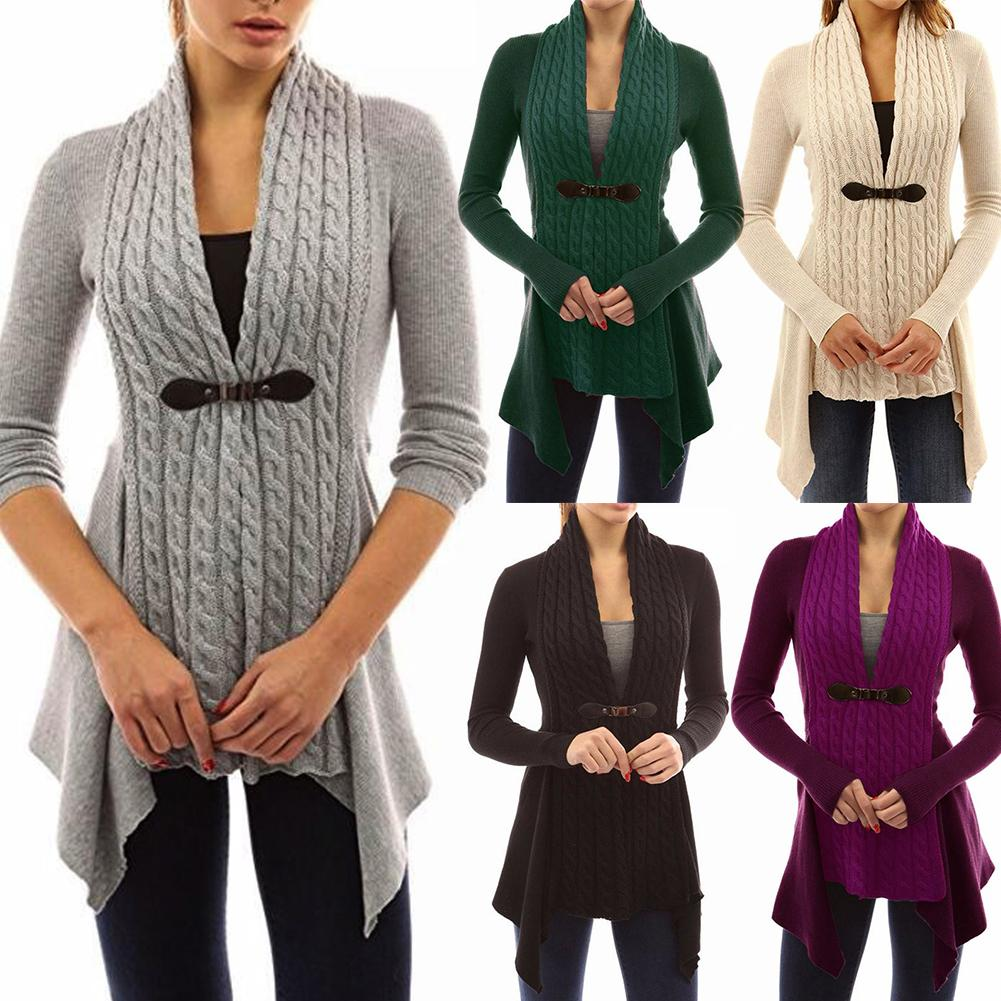 Sweater Cardigans Women  Loose Sweater Jacket  Female Knit Coat Lady's solid V neck lace wool knit Sizes S to 3XL