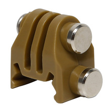 New Arrival Plastic Hunting Tactical Sport CS Fix Gopro Camera Mount Adapter for Rail