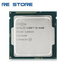 إنتل كور i5 4460 رباعية النواة 3.2GHz 6MB 5GT/s LGA 1150 معالج وحدة المعالجة المركزية