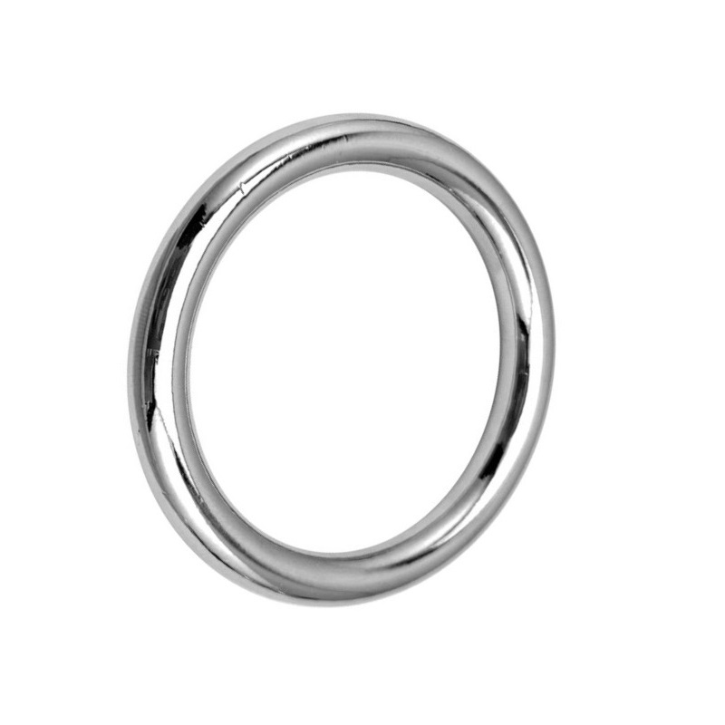 Stainless Steel Large Male Ball Scrotum Stretcher Metal Penis Lock Cock Ring Delay Ejaculation BDSM Sex Toy For Man