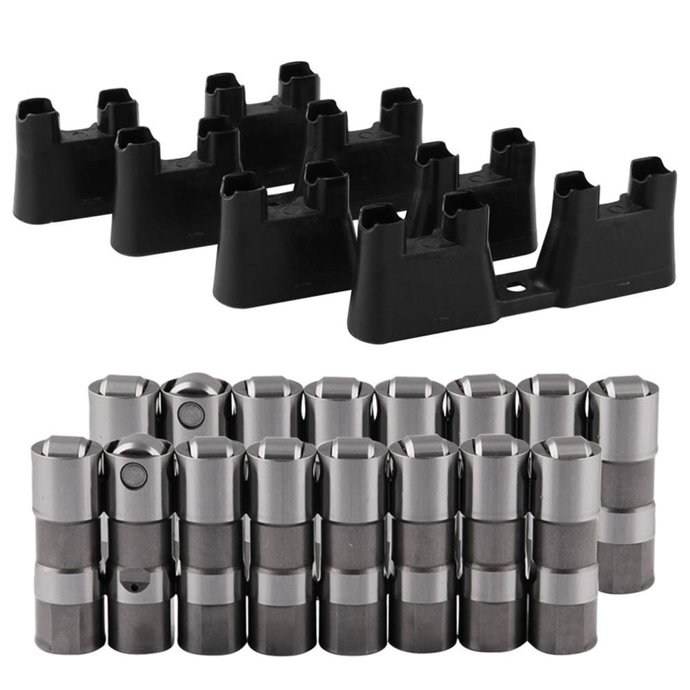 Automotive High Performance Valve Tappet LS7 LS2 16 Performance Hydraulic Roller Lifters & 4 Guides 12499225 HL124