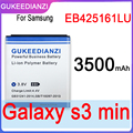 Аккумулятор для мобильного телефона 3500 мАч EB425161LU для Samsung GT-S7562L S7560 S7566 S7568 S7572 S7580 I8190 I739 I8160 S7582 SM-J105H J1 MINI