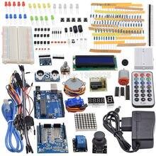Ultimative Starter Kit einschließlich Ultraschall Sensor, UNO R3, LCD1602 Bildschirm für Arduino Mega2560 UNO Nano mit Kunststoff Box
