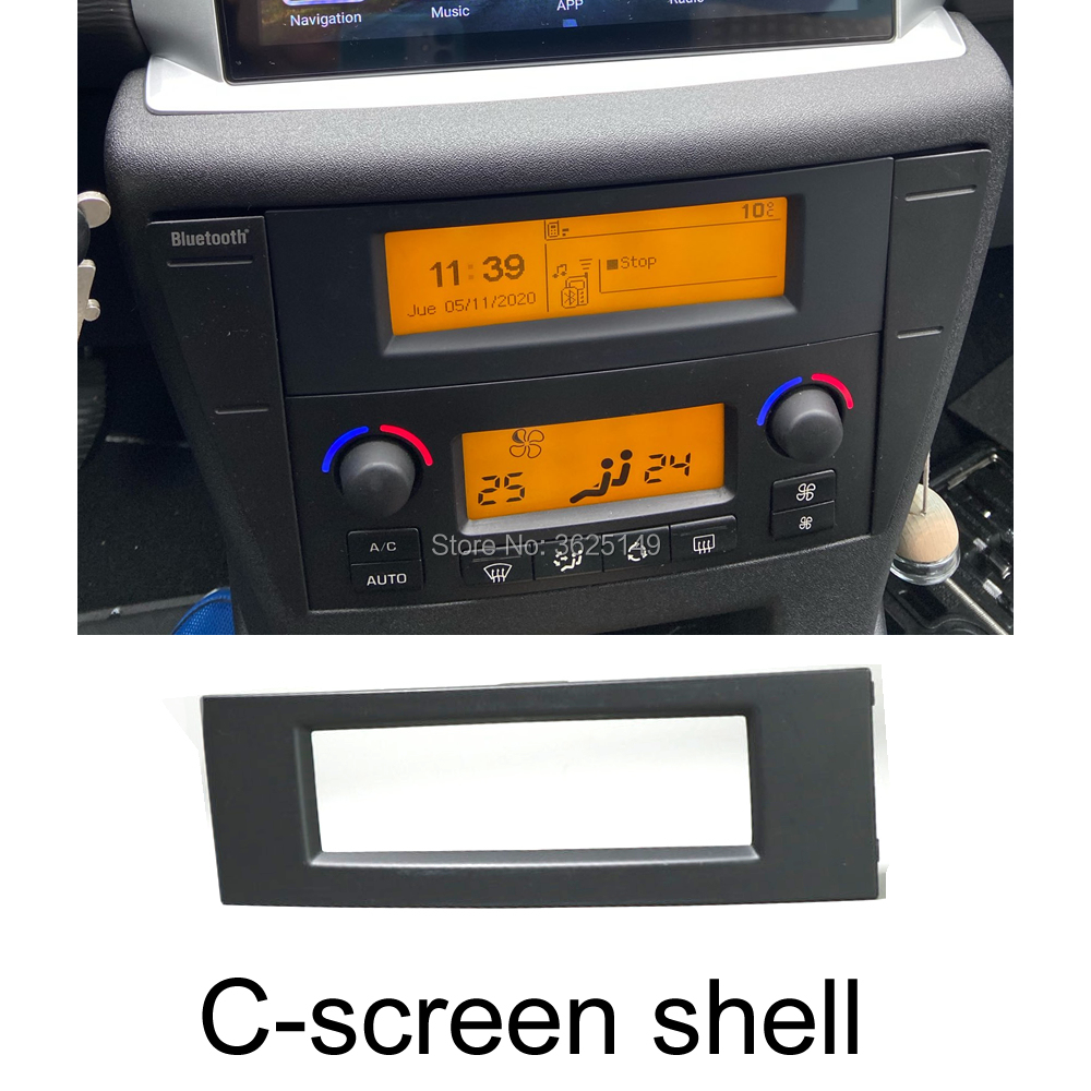 1x / 10x para citroen multi-função c-screen concha cd player posição substituição da tela habitação tela fixo rosto fram