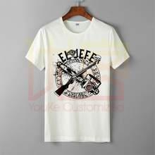 Camiseta con estampado de El Jefe para hombre, camisa de cuello redondo con estampado de película de Horror, 100%, de algodón