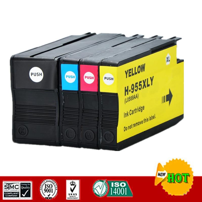 Cartucho de tinta compatível para hp955xl hp955