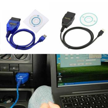 Car OBD2 USB VAG-COM KKL 409.1 Interface Cable Automobile Scan Auto Diagnostic Cable Scanner For VW Tool Interface Audi Sea A2X7 image