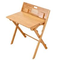 Foldable desk children's learning desk solid wood primary school writing desk home desk standing desk