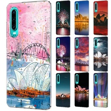 Mobile Phone Case for Huawei Mate 30 20 10 Pro Lite Y6 Y7 Y9 Nova 2 3 2i 3i 3 4 5i Shell Cover sydney opera house cool