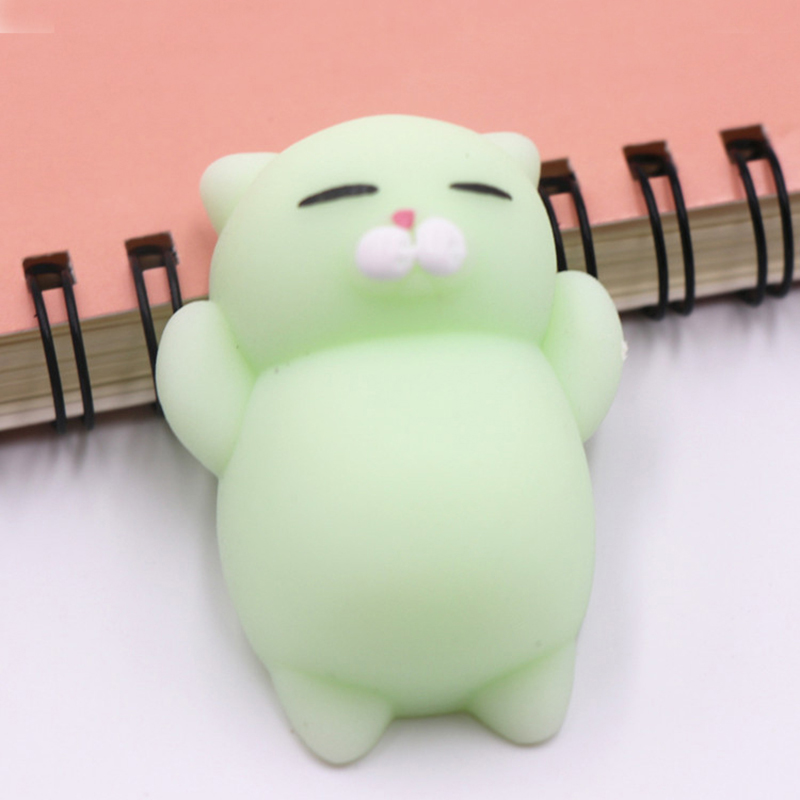 Squishy Animal Toy Cute Cat  Squeeze Rising Antistress Ball Stress Relief Funny Gift Decompression Funny Gift