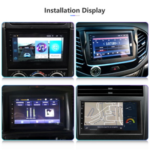 Image 4 - Android 8,1 2 Din 7 inch HD 4 Core Touch Screen Auto radio Multimedia Player Universal Bluetooth autoradio GPS KARTE spiegel Link