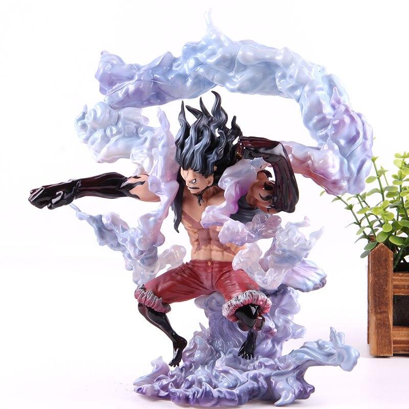 ملك الفنان لوفي جير 4 الأفعى رجل بك جمع لعبة مجسمة أنيمي قطعة واحدة قرد D لوفي عمل الشكل Snakemanشخصيات الدمى والحركة   -