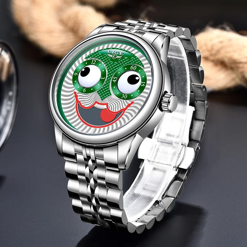 Top Luxury Automatic  Men's Clock  Wristwatch. 2