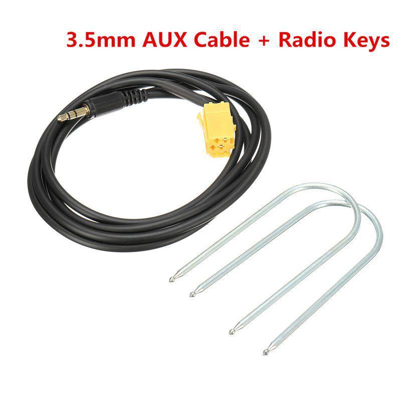 Автомобильный 3,5 мм Jack в соответствии со стандартом ISO 6Pin разъем Aux кабель для Фиат Гранд пунто Новый|Кабели, адаптеры и разъемы| | АлиЭкспресс