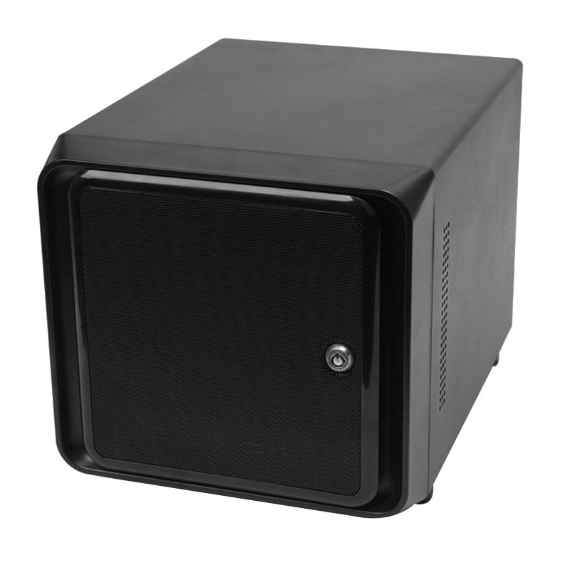 Mini-ITX Hot Swap 4 Bays NAS Cloud Storage IPFS Server