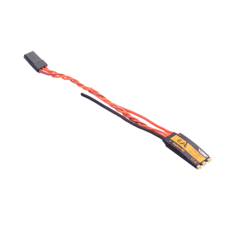 V-GOOD 6A <font><b>2S</b></font> 32-Bit Brushless ESC with 1.5A SBEC for Fixed Wing RC Airplane image