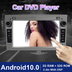 Eunavi 2 Din Android 10 Car radio GPS for Opel Vauxhall Astra H G J Vectra Antara Zafira Corsa Vivaro Meriva Veda 4G USB NO DVD