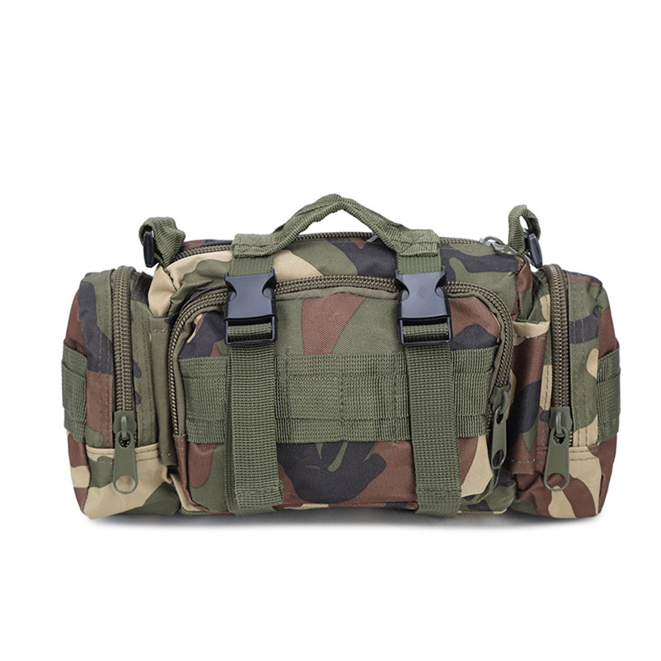 Fishing Reel Bag Outdoor Waist Bag Multifunctional Fishing Shoulder Tackle Equipment Bag