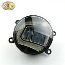 цена на 2pcs fog lights For Citroen C3 C4 C5 C6 Xsara Picasso For OPEL Vectra SignumTigra Twnto Fog Lamps lighting LED Lights 6000K 12V
