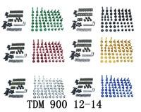 오토바이 완제품 페어링 볼트 키트 차체 용 나사 YAMAHA TDM 900 2012-2014
