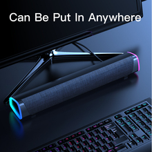 Bluetooth Computer Speakers 4D Stereo Sound Bar Speaker for PC Laptop Notebook Column Music Player Wired Loudspeaker