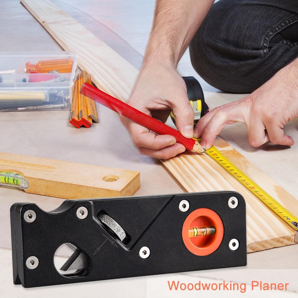 45 Degree Woodworking Planer Manual Beveling Angle Corner Shaving Trimming Planer Hand Tools for Carpenter Cutter Edge