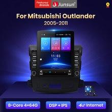 Junsun V2 Pro 4G + 64G Carplay Dsp Voor Mitsubishi Outlander Xl 2 2005-2011 Android 8.1 auto Radio Multimedia Navigatie Geen 2 Din