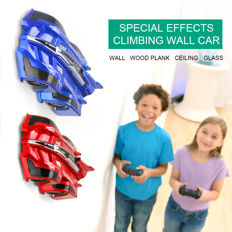 New RC Car W1 Wall Climbing Car Toys Climb Ceiling Car With Light Can Drift Stunt Climbing Car Toy Model Gift for Kids
