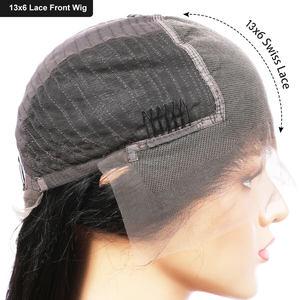 Image 5 - 13 × 6レースフロント人毛ウィッグ女性のための事前摘み取らでエルバhairレースフロントかつらのremy毛変態カーリーペルーかつら