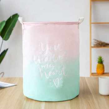 Storage Basket Folding Laundry Basket For Multicolor Toy Storage Dirty Clothes Large Capacity Sundries Household Organiser Bag