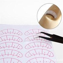7pairs Eyelash Sticker Eyelash Paper Patches Under Eye Pads Eyelash Extension Paper Patches Eye Tips Sticker Make Up Tools