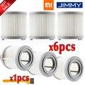 HEPA фильтр для Xiaomi JIMMY JV51/53 Ручной беспроводной пылесос HEPA фильтр-серый Сменный фильтр