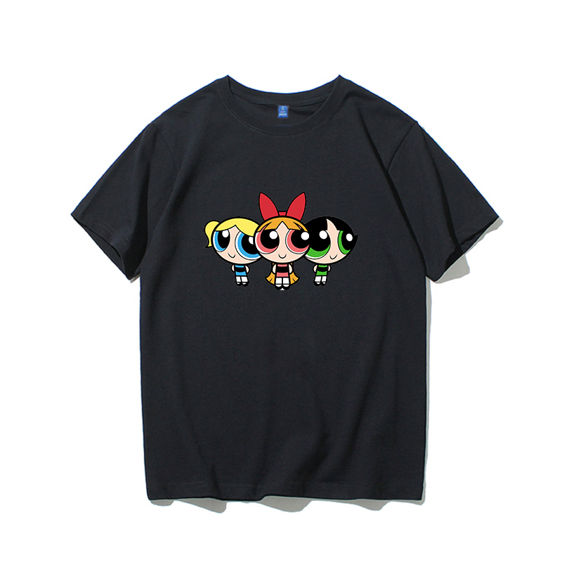 H3901e18b11d340a6a9852f3b4788f4e52 - high quality cotton womens t shirt kawaii cartoon t-shirt femme t shirts vintage tshirt clothes women kpop vintage tee printed