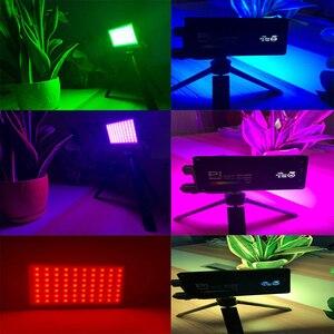 Image 5 - Tasca Boling RGB LED Video Luce di 12W Dimmable Pieno di Colore 2500 8500K per la Macchina Fotografica DSLR Studio Vlogging fotografia di Illuminazione BL P1