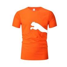 Novo masculino casual camiseta impressão correndo camiseta verão esportes camiseta solta respirável conjunto camiseta de fitness
