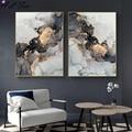 Скандинавская золотисто-серая жидкая мраморная абстрактная текстура Роскошная абстрактная жидкая живопись для современного домашнего де...