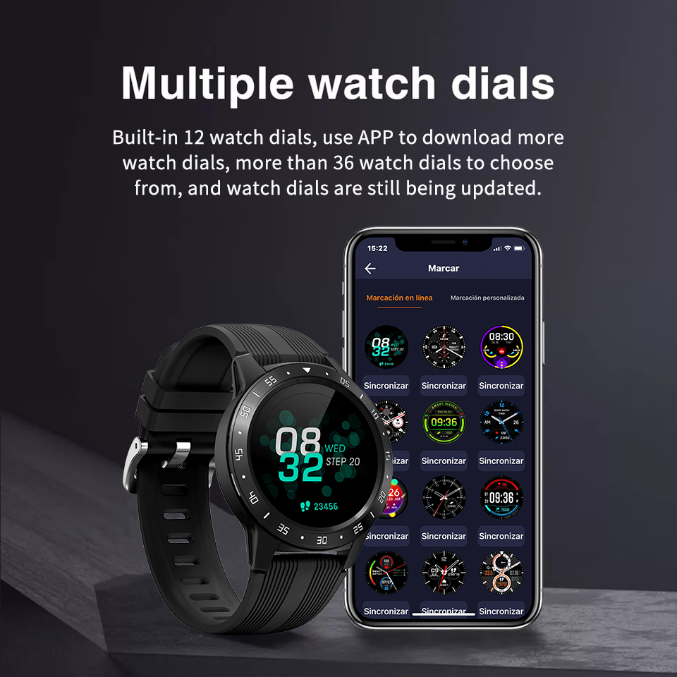 H3902d7e95c064a11bd520b70147655dcB GPS Smartwatch Men With SIM Card Fitness Compass Barometer Altitude M5 Mi Smart Watch Men Women 2021 for Android Xiaomi